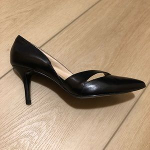 Nine West Leather Pointed Toe Shoes Pumps Heels